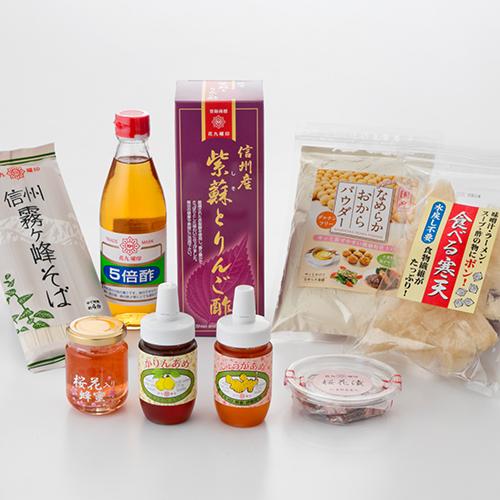蕎麦・酢・季節品